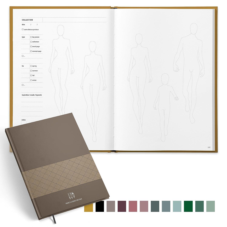 Modedesigner, Enthusiastin Enthusiastin Enthusiastin There's a book for that    Fashiondesign Notebook - Ein Notizbuch, perfekt durchdacht und designt   Der Organizer , das Kreativitätstool für mehr Inspiration und Struktur. B079L9LN44   Um Zuerst Unter ähnlichen Produkt dd9876