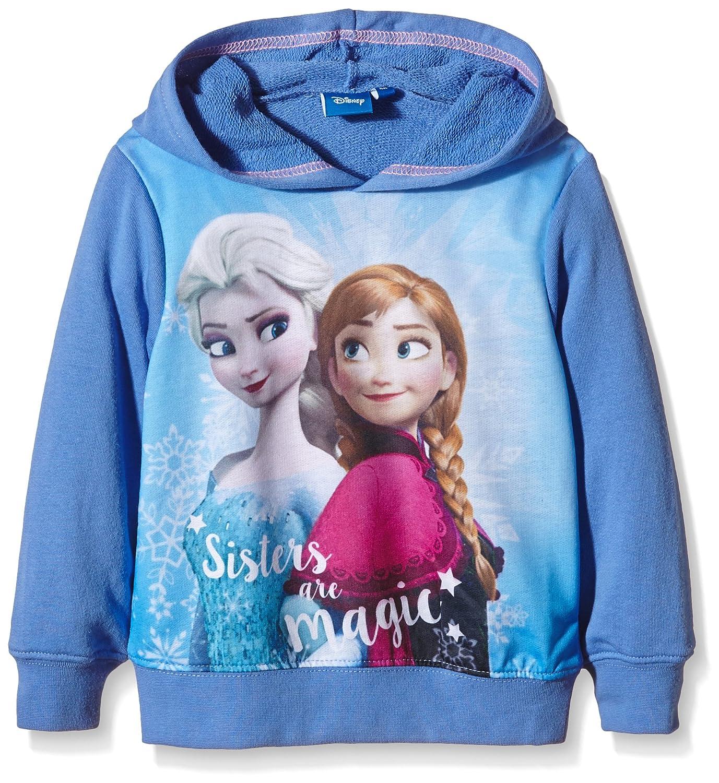Disney Mädchen Frozen - Die Eiskönigin Kapuzenpullover EP1302