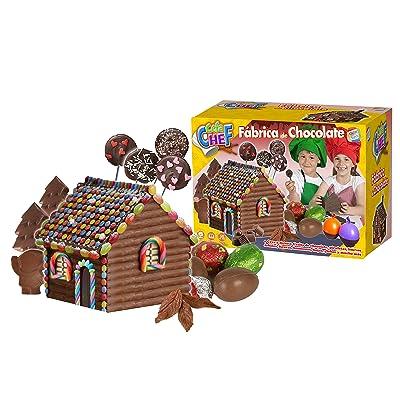 Cefa Chef-21791 Disney Fabrica de Chocolate, Juego de comiditas en Miniatura, Cefatoys 21791: Juguetes y juegos