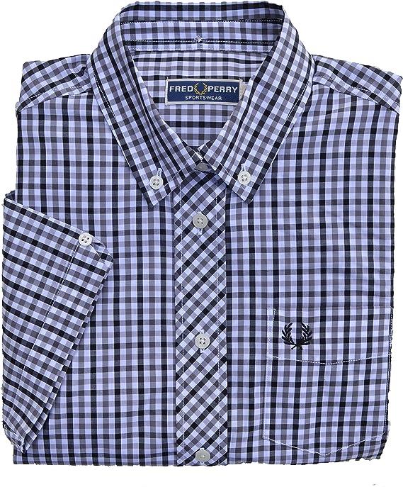 Fred Perry Camisas - Cuadrados - con Botones - Para Mujer ...