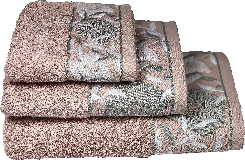 500 g//m/² muy absorbente 8 accesorios de ba/ño secado r/ápido 10 Juego de toallas de ba/ño de uso diario /Öko-Tex Standard 100 6 piezas 100/% algod/ón tacto suave