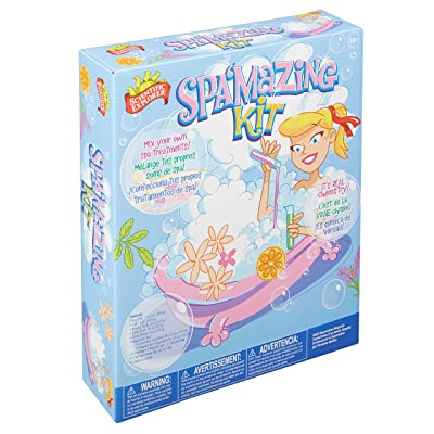 Scientific Explorer Scientific Explorer Spa'mazing Kids Girls Science Kit: Toys & Games