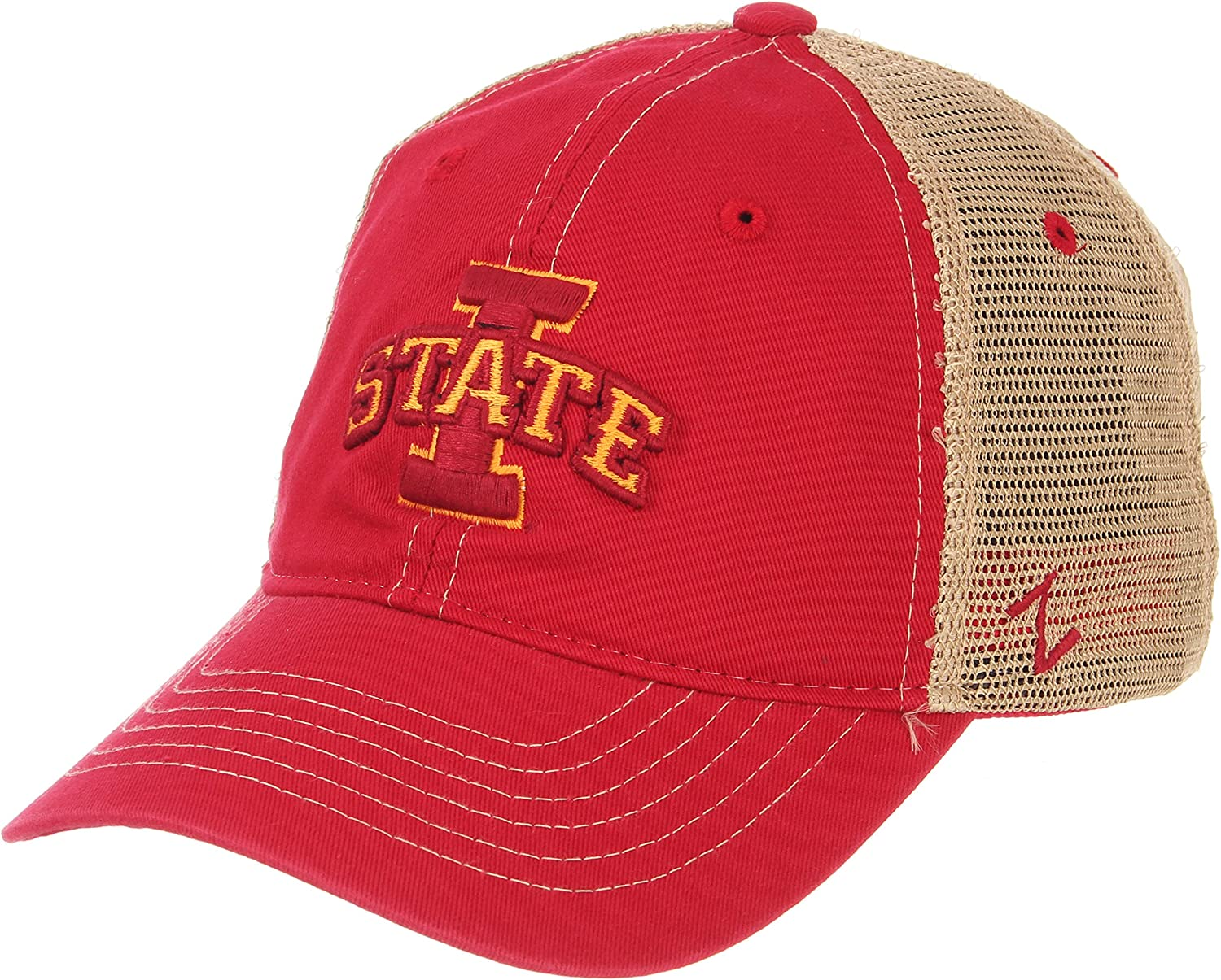 Zephyr NCAA Mens Threepeat Relaxed Cap