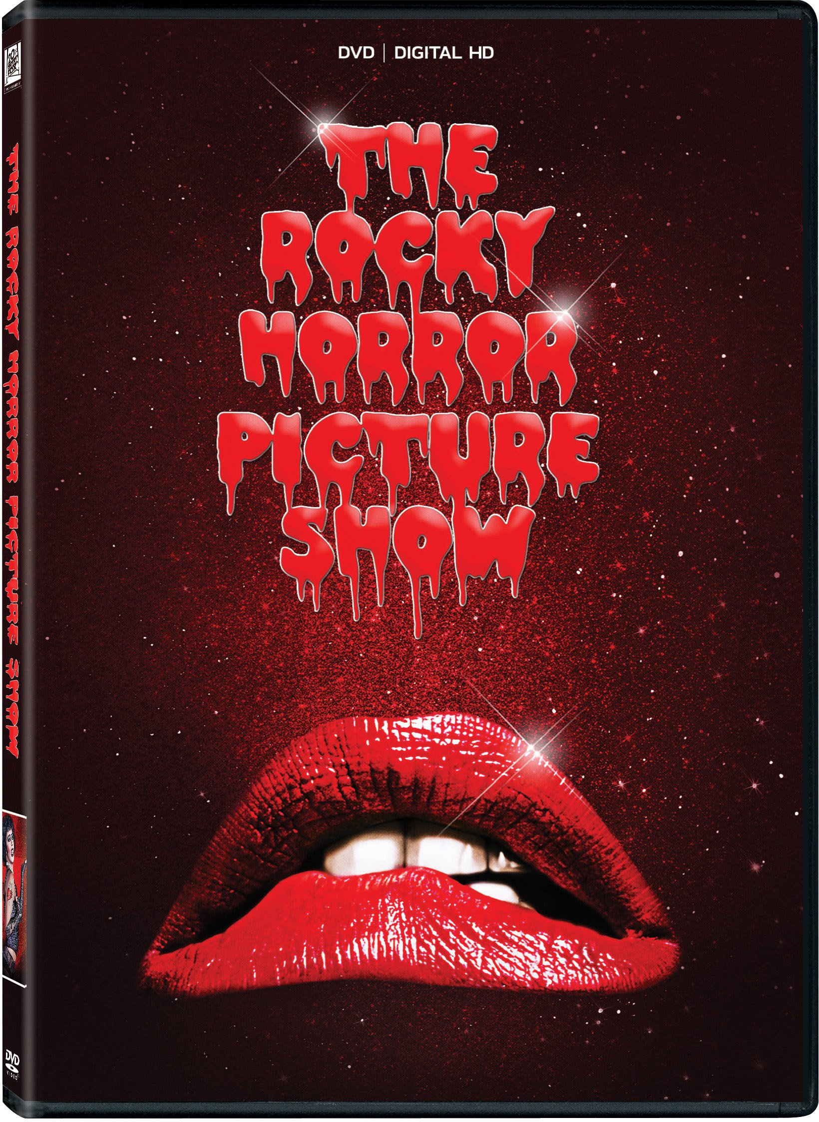 DVD : The Rocky Horror Picture Show (40th Anniversary) (Anniversary Edition, Widescreen, , Mono Sound, Digitally Mastered in HD)