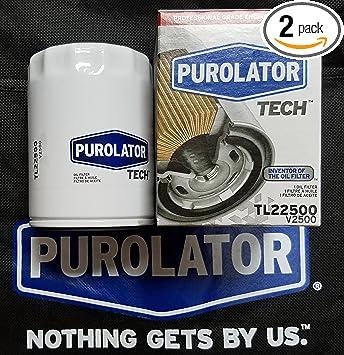 Pack of 2 Purolator PL10241 PurolatorONE Oil Filter