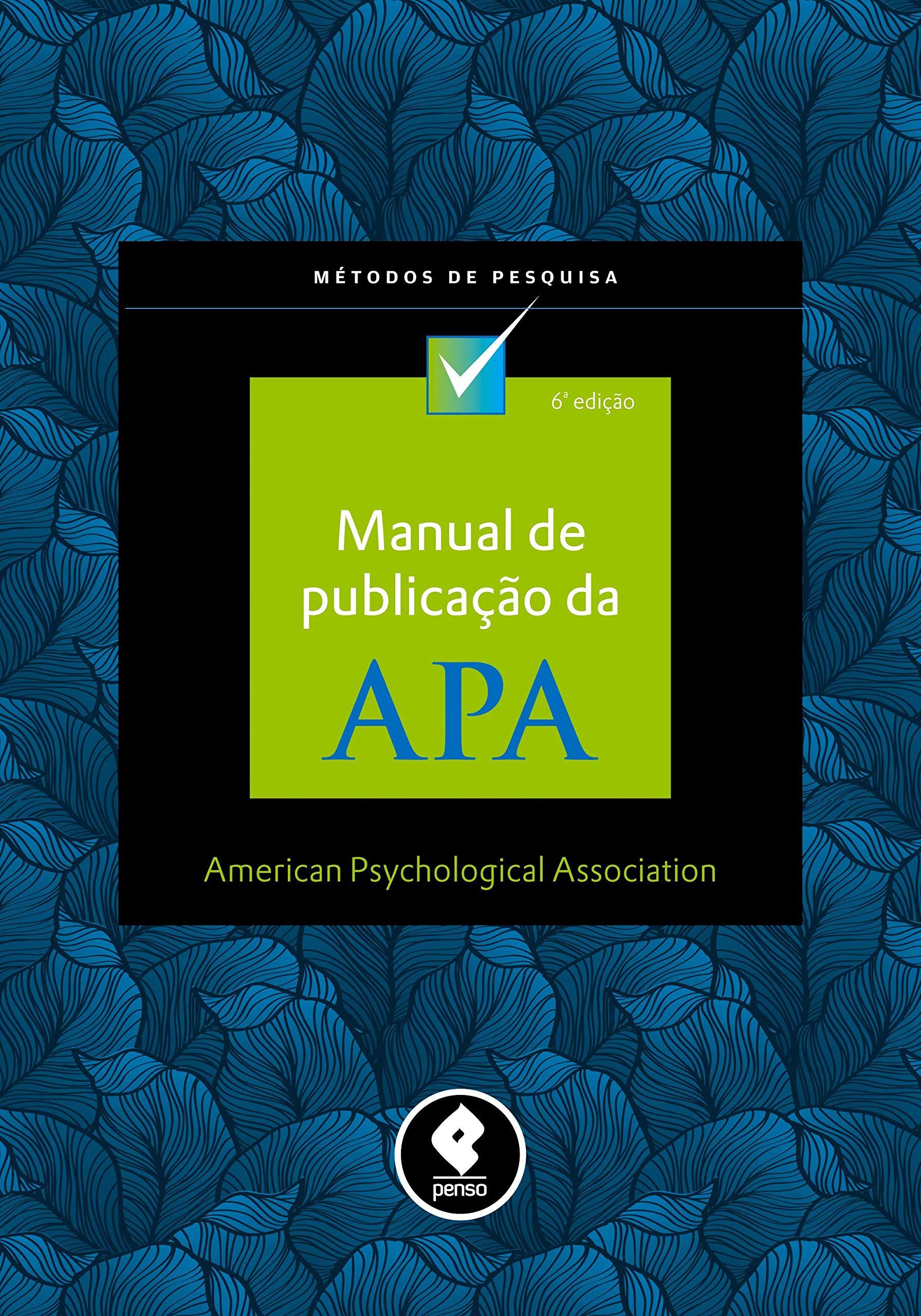 Manual de Publicação da APA (Em Portuguese do Brasil) pdf epub