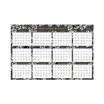 Amazon.com: Blue Sky 2020 - Calendario de pared laminado ...