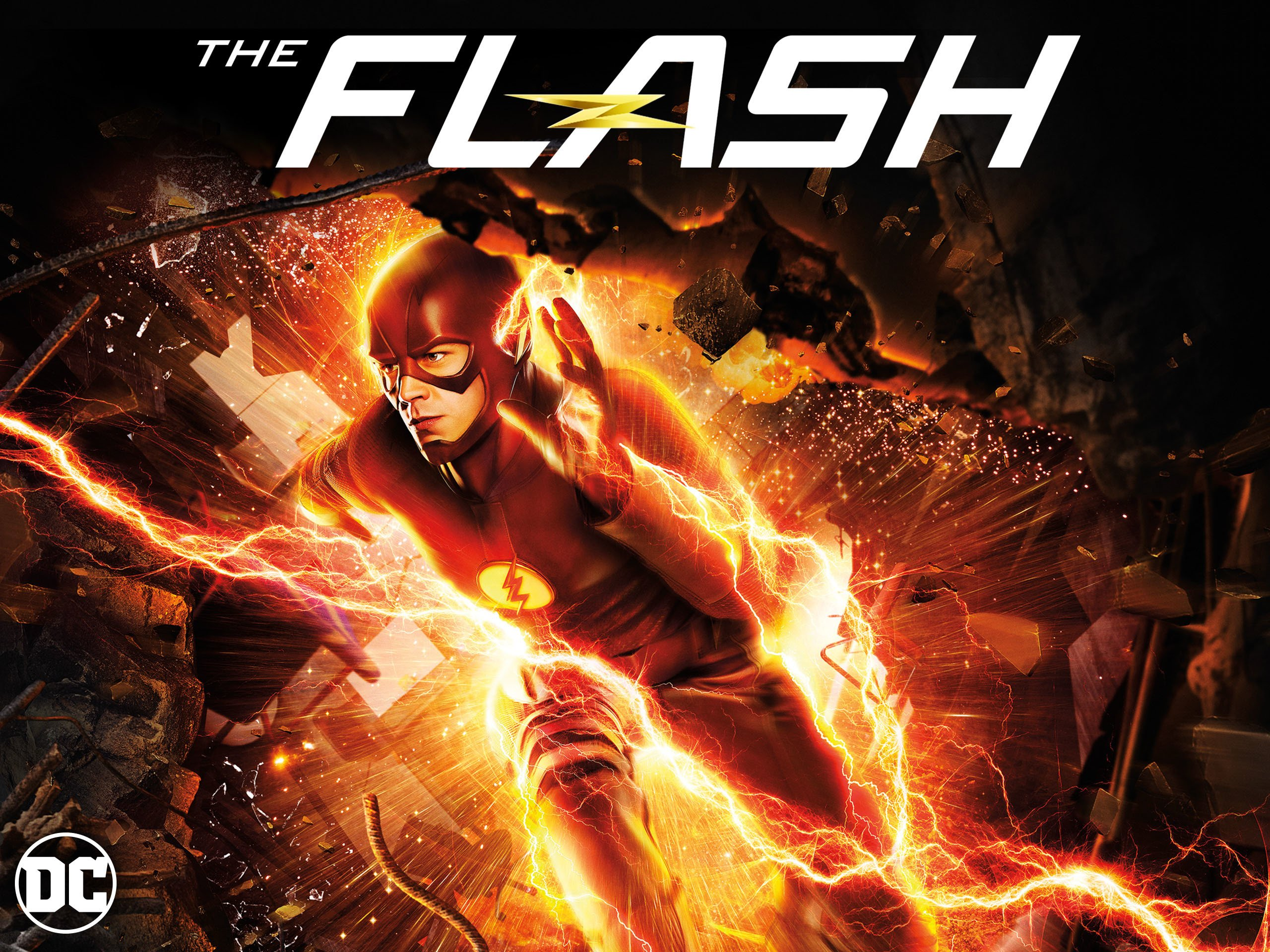 amazon com the flash season 4 grant gustin candice patton