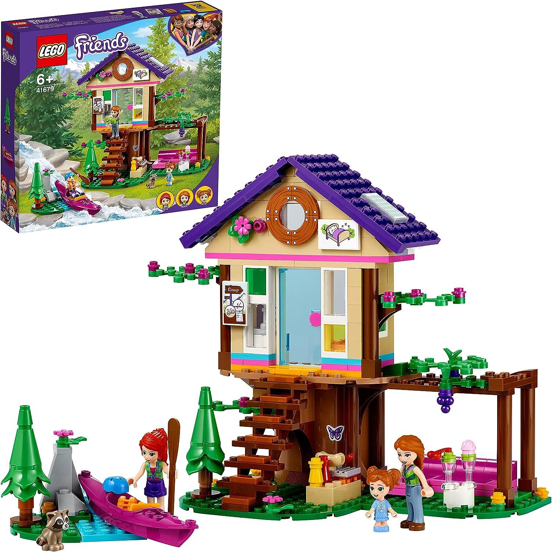 LEGO 41679 Friends Bosque: Casa del Árbol, Juguete de Construcción para Niñas y Niños +6 Años con Mini Muñecas