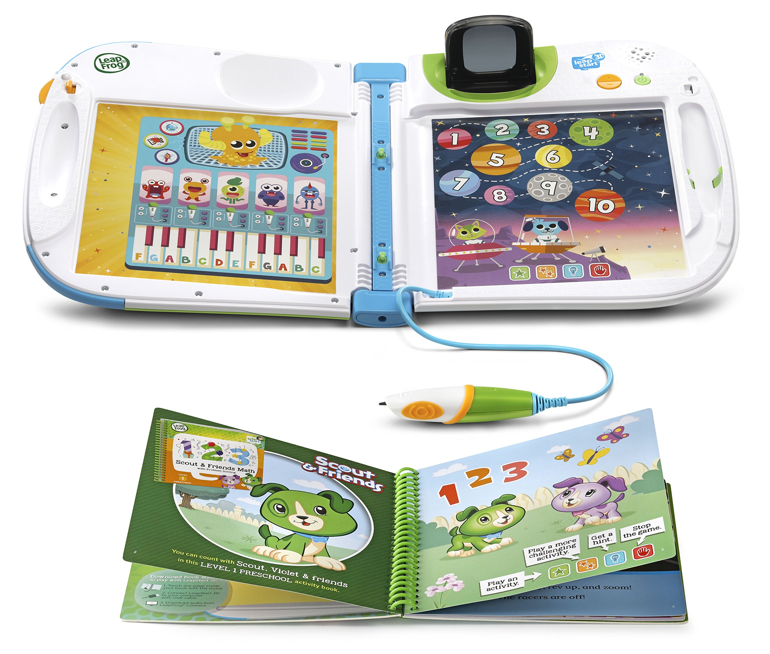 LeapFrog LeapStart 3D Interactive Learning System (Frustration Free Packaging), Green by LeapFrog (Image #4)