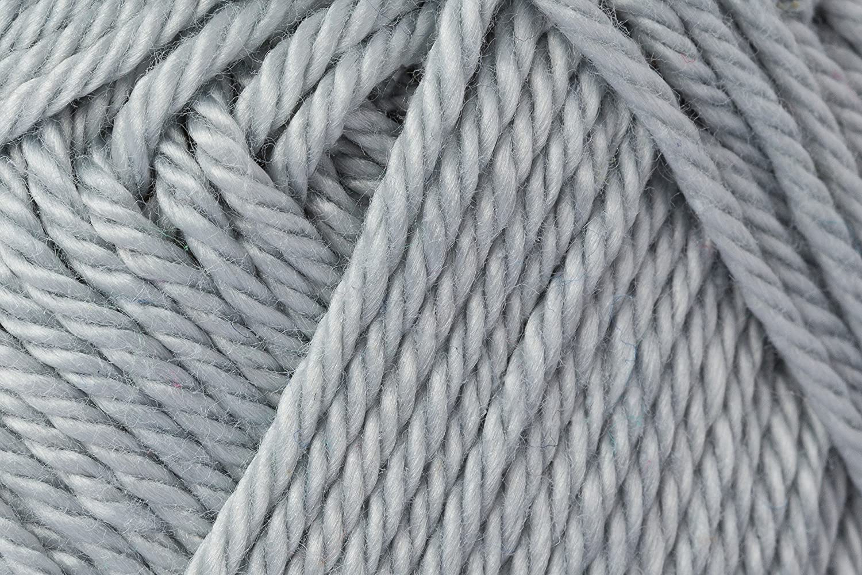 Schachenmayr Ovillo Hilo de algodón para Punto y Ganchillo Catania 9801210, algodón, Plata, 11,5 x 5,2 x 6 cm: Amazon.es: Hogar