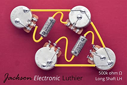 Tremendous Amazon Com Les Paul Wiring Harness Kit Cts 500K Left Handed Long Wiring 101 Akebretraxxcnl