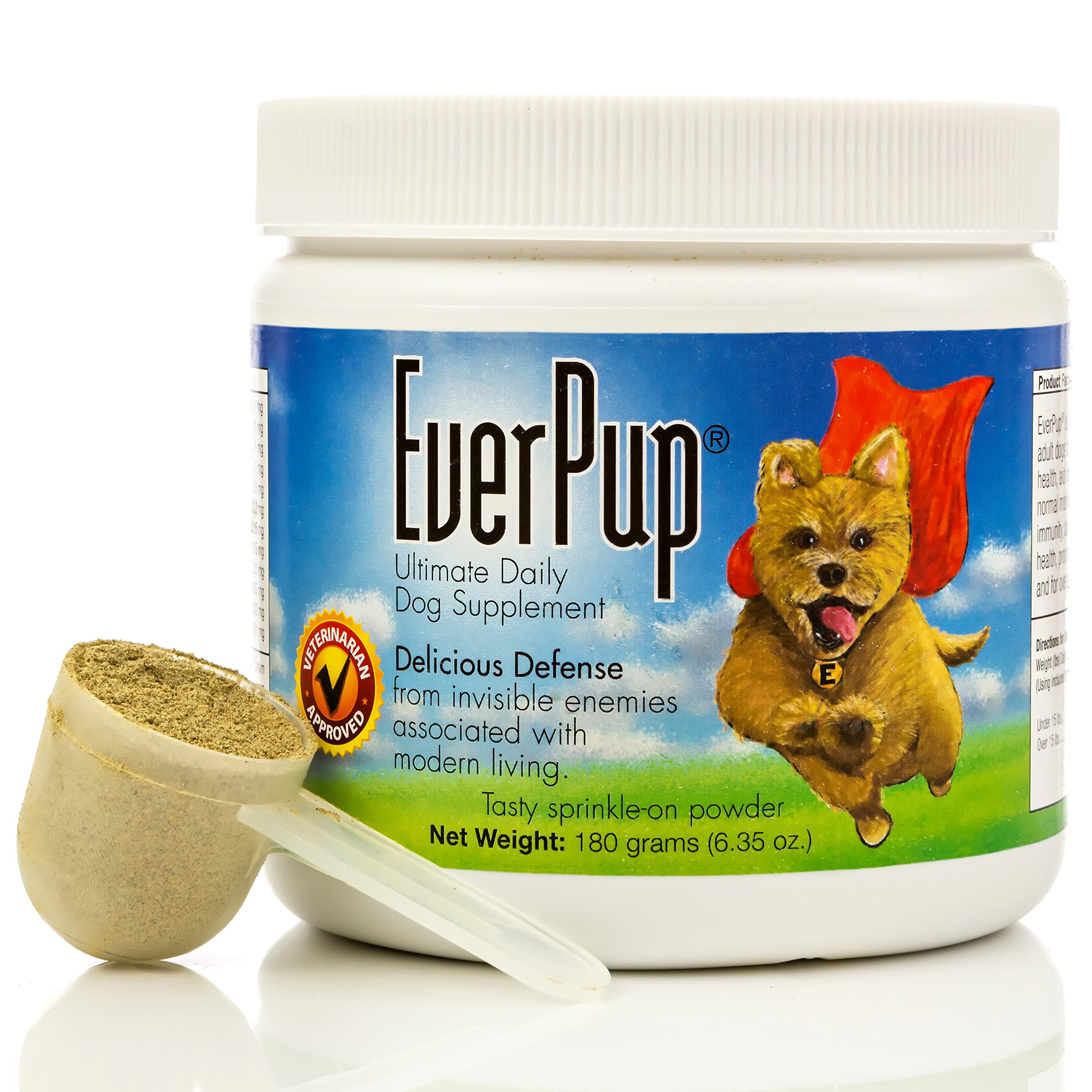 EVERPUP Ultimate Daily Dog Supplement,6.35oz. by Apocaps | EverPup