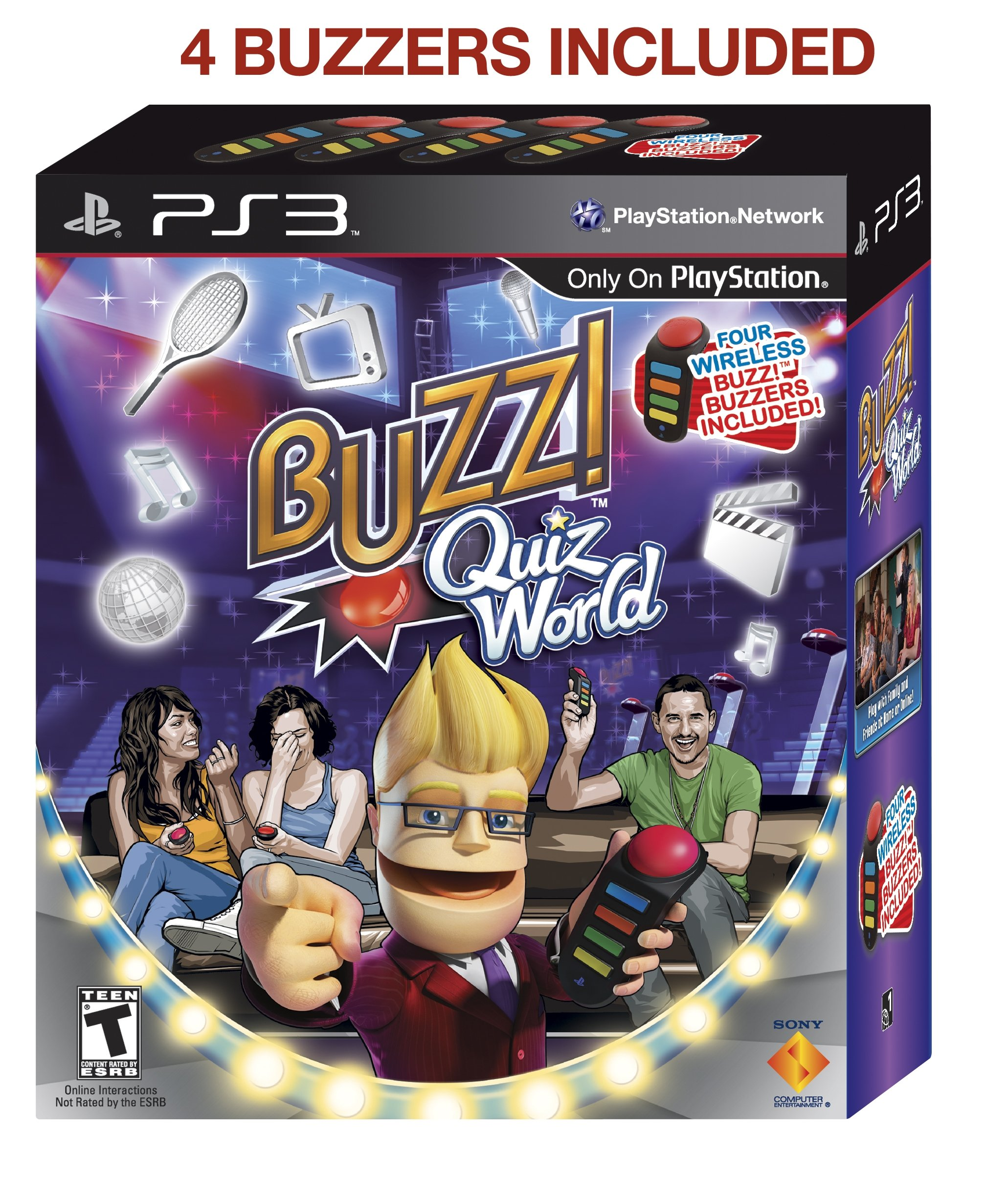 Buzz! Quiz World Bundle - Playstation 3