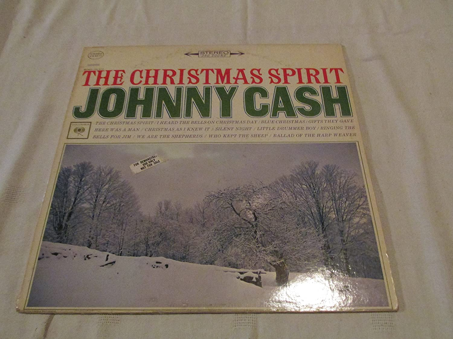 JOHNNY CASH - the christmas spirit COLUMBIA 8917 (LP vinyl record ...