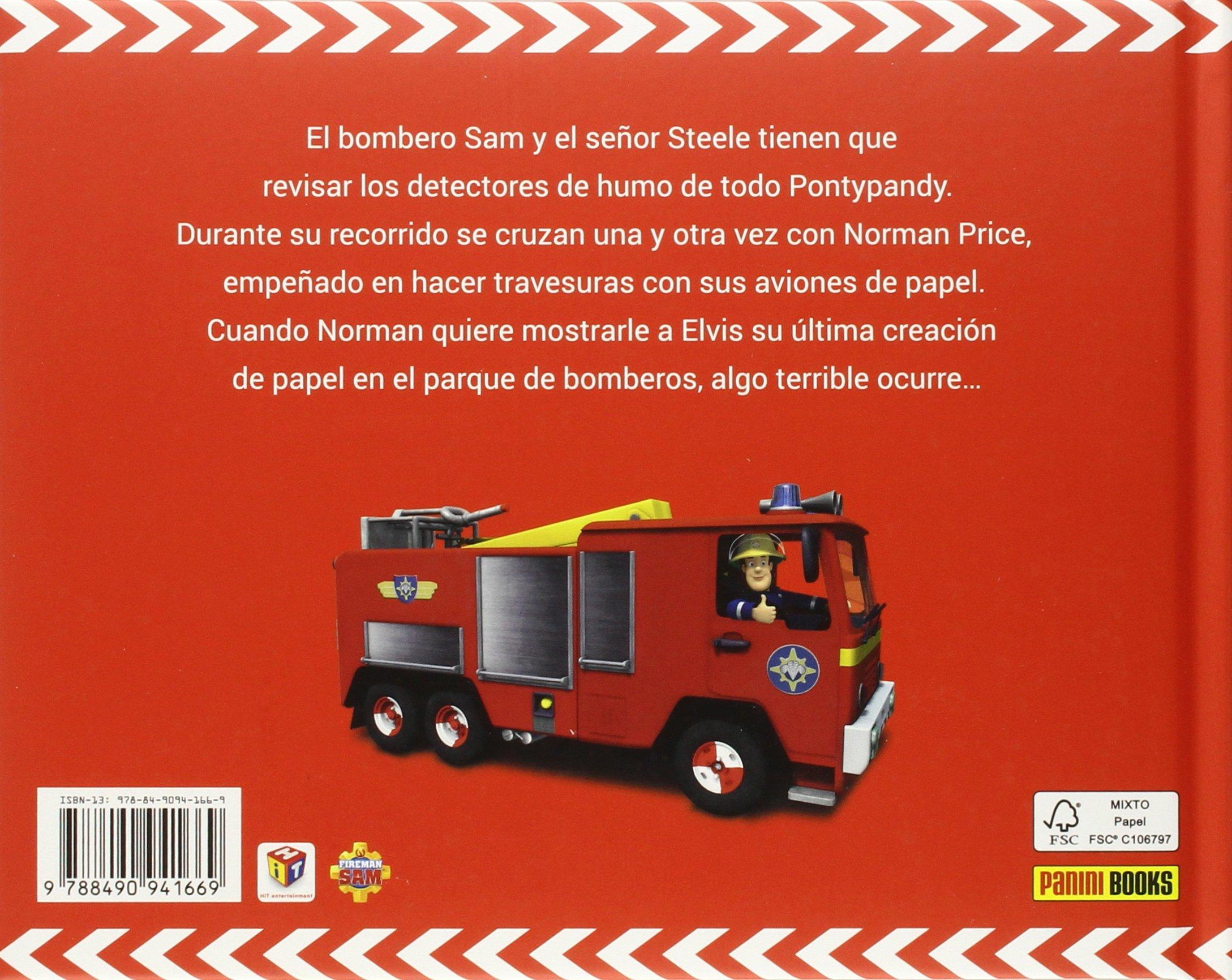 Sam el bombero. Incendio en el parque de bomberos.: 9788490941669: Amazon.com: Books