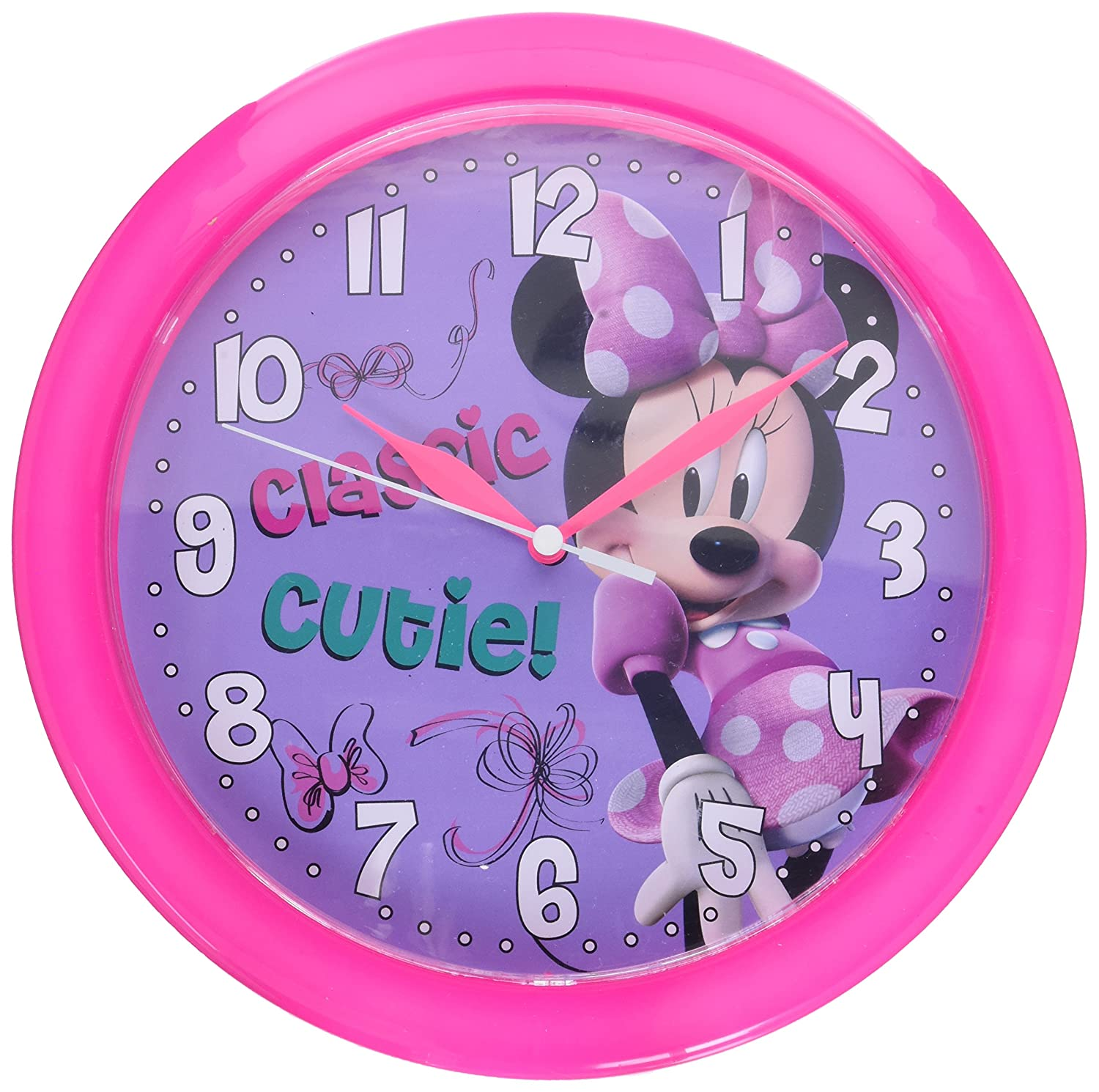 Disney Minnie Mouse Bow-tique 10-inch Wall Clock Balec Group - Toys DS40204
