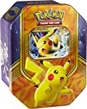 Pokemon TCG: Battle Heart Autumn/Fall Tin 2016 - One Tin at Random - Either Pikachu EX, Magearna EX or Volcanion EX (English)