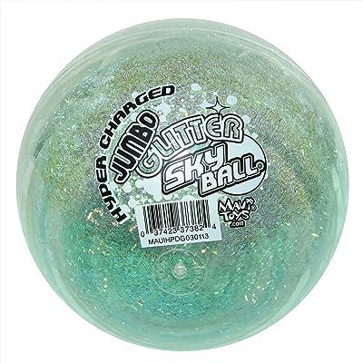 Maui Toys Jumbo Glitter Sky Ball, 120mm, Assorted Colors: Toys & Games
