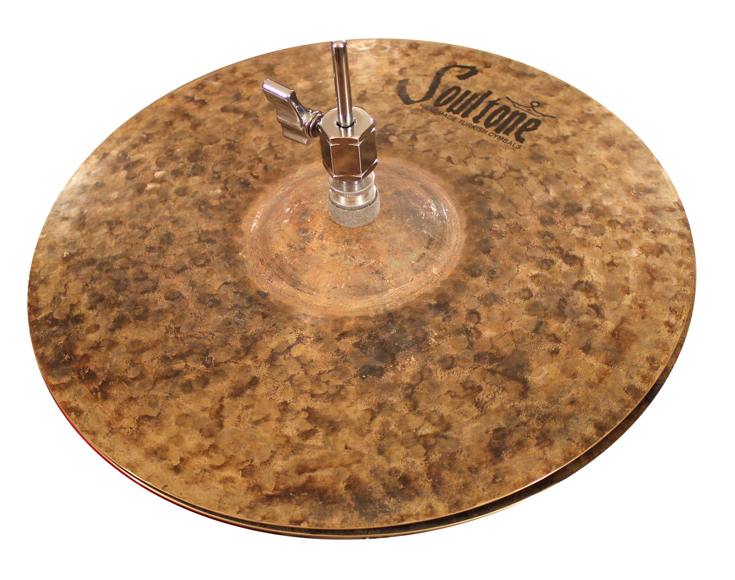 Soultone Cymbals NTR-HHT08-08'' Natural Hi Hats Pair by Soultone Cymbals