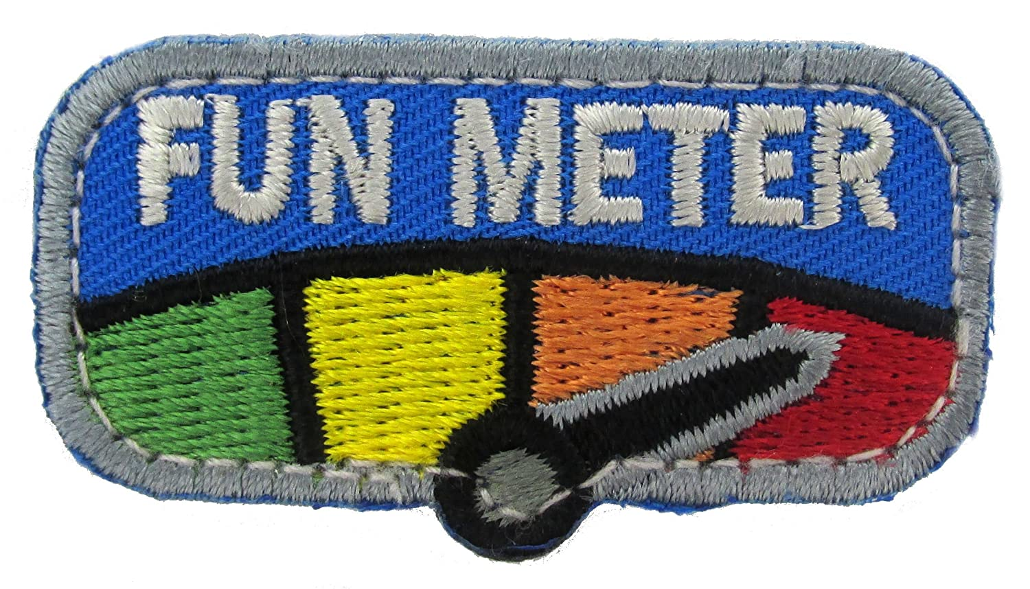 MIL-SPEC Fun Meter Patch Full Color Mil-Spec Monkey