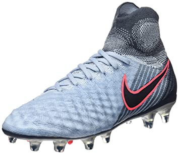 hot sale online b31d6 9ee95 Nike Jr. Magista Obra II FG Chaussures de Football Mixte Enfant, Bleu (Light