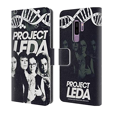 Amazon.com: Official Orphan Black Eyes Project Leda Leather Book Wallet Case Cover for Samsung Galaxy S9+ / S9 Plus: Cell Phones & Accessories