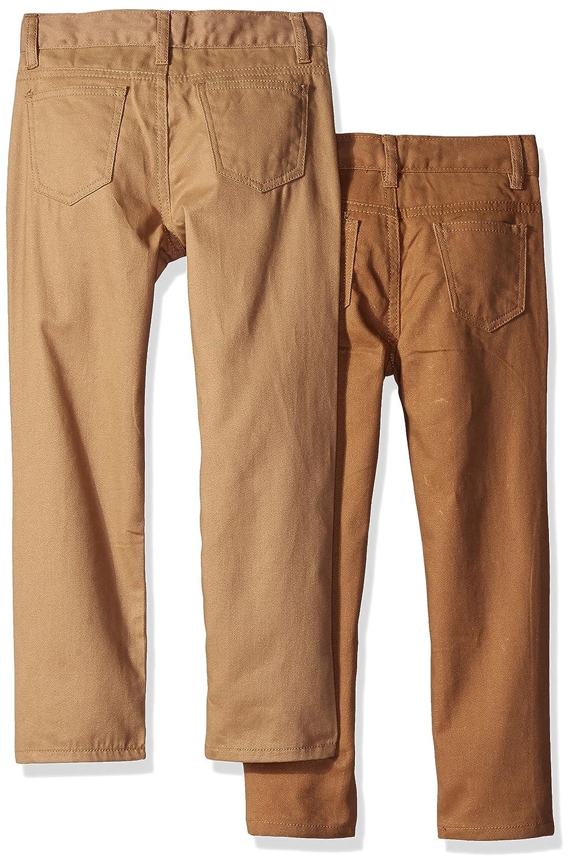 American Hawk Boys 2 Pack Five Pocket Twill Pants
