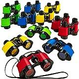 12 Toy Binoculars With Neck String 3.5 x 5 - Novelty Binoculars For Children Sightseeing Birdwatching Wildlife Outdoors…