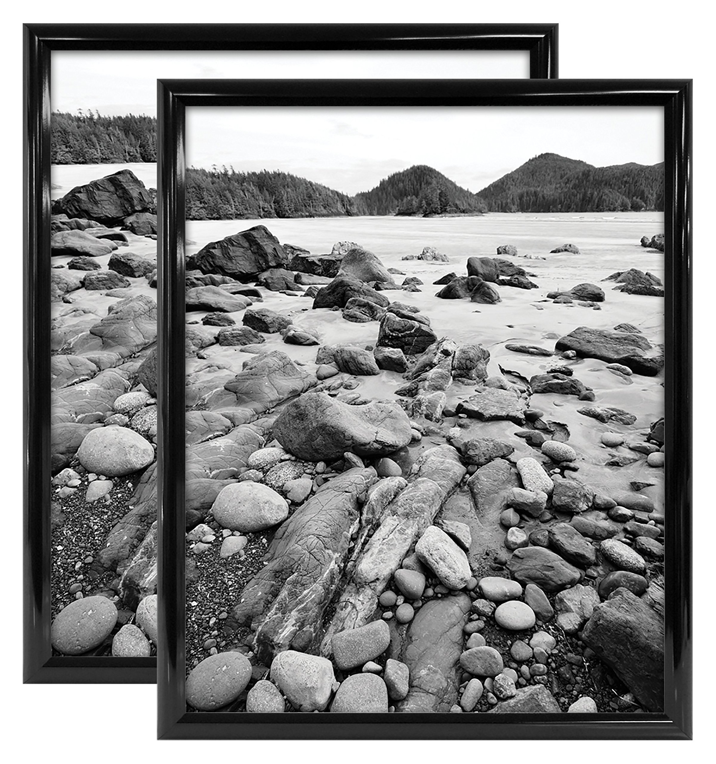 MCS Trendsetter 16x20 Inch Poster Frame (2pk), Black (65682) by MCS (Image #2)