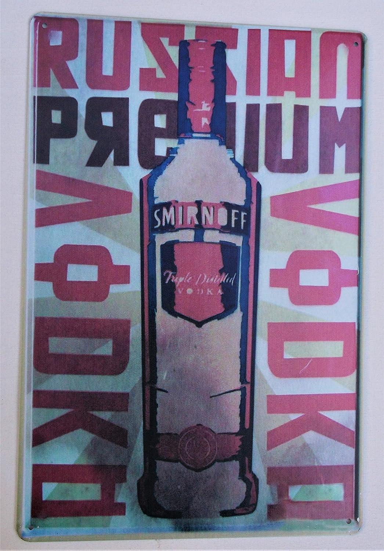 Bar Retro Metal Plaque//Sign Pub Vodka Man Cave Novelty Gift