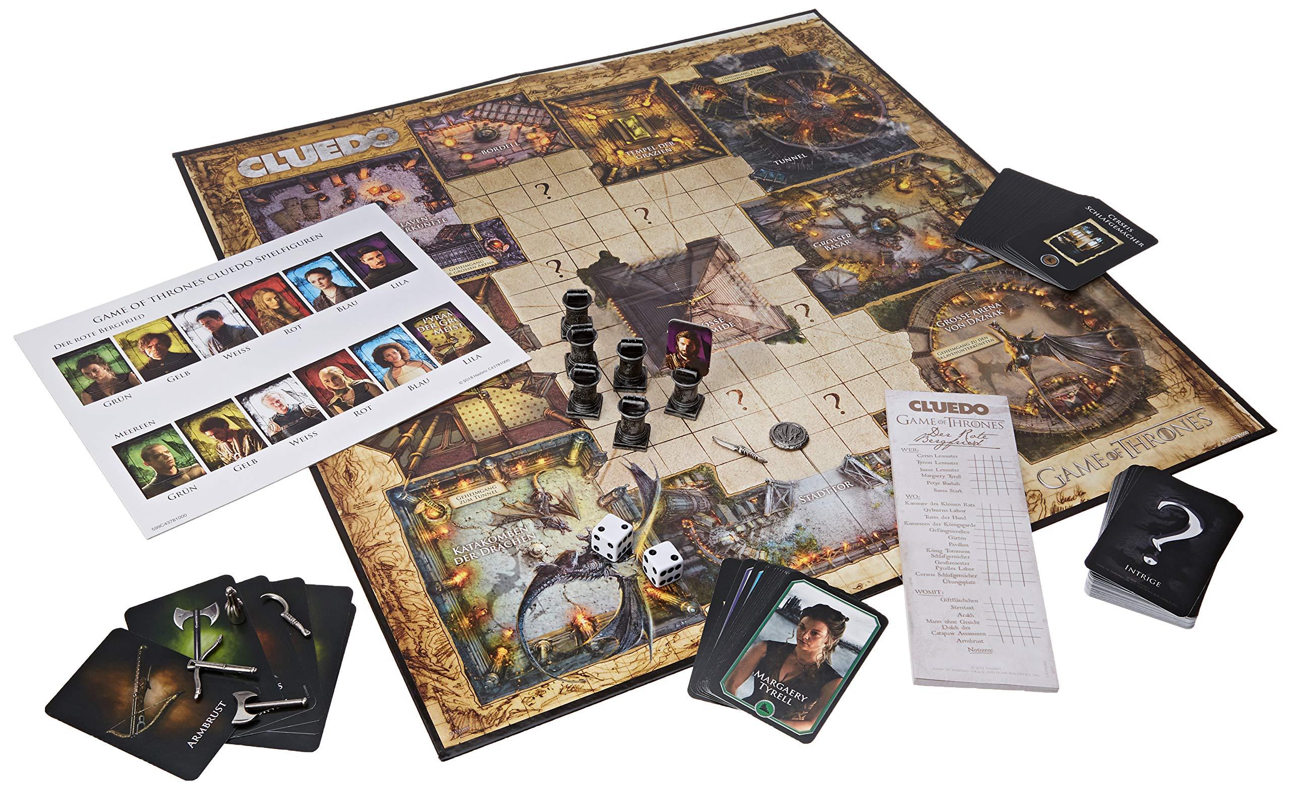 Cluedo Game of Thrones Collectors Edition: Amazon.es: Winning, Moves: Libros en idiomas extranjeros
