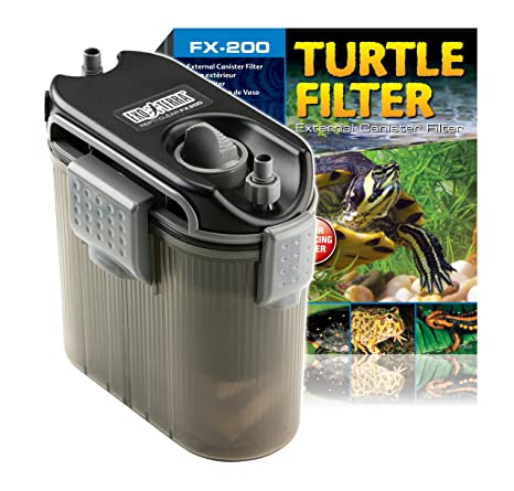 .com : exoterra external turtle filter for aquarium : canister ...