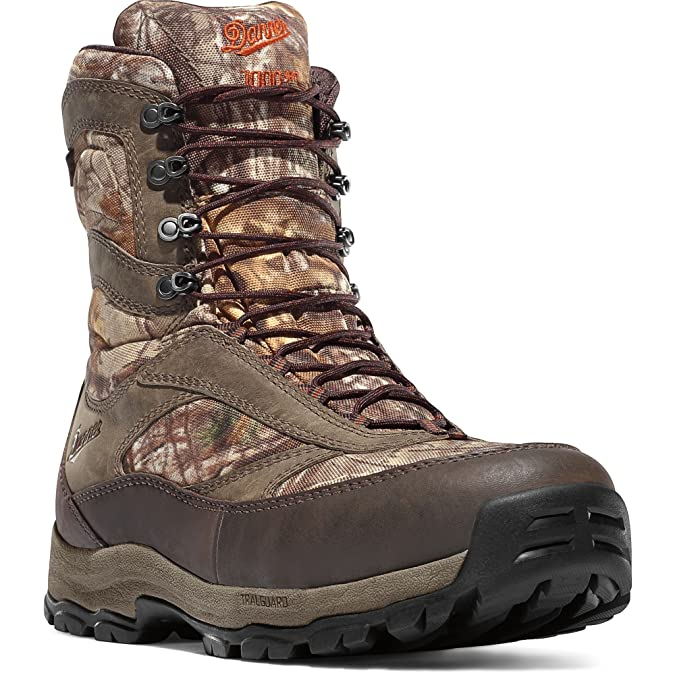 Danner Men 's High Ground 1000G 8 Boot Knit Cap Bundle B075XTCR3J