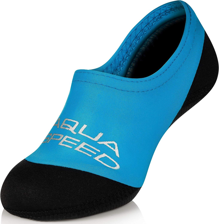 Aqua Speed Neo Socks Calcetines para Niños   20-29   Calcetines de Neopreno   Hijos   Suela Antideslizante   Elásticos   Fácil
