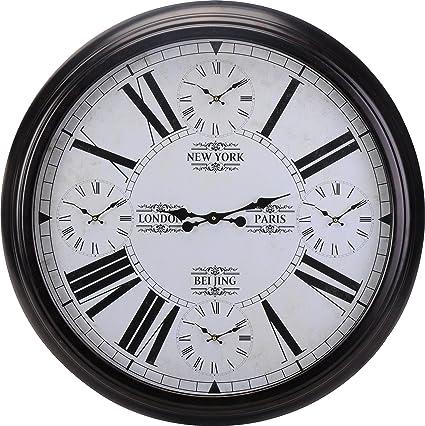 Unbekannt Horloge Murale Xxl ø93 Cm Avec Horloge à Quartz