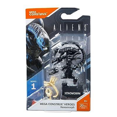 Mega Construx Heroes Series 1 Aliens Xenomorph Figure: Toys & Games