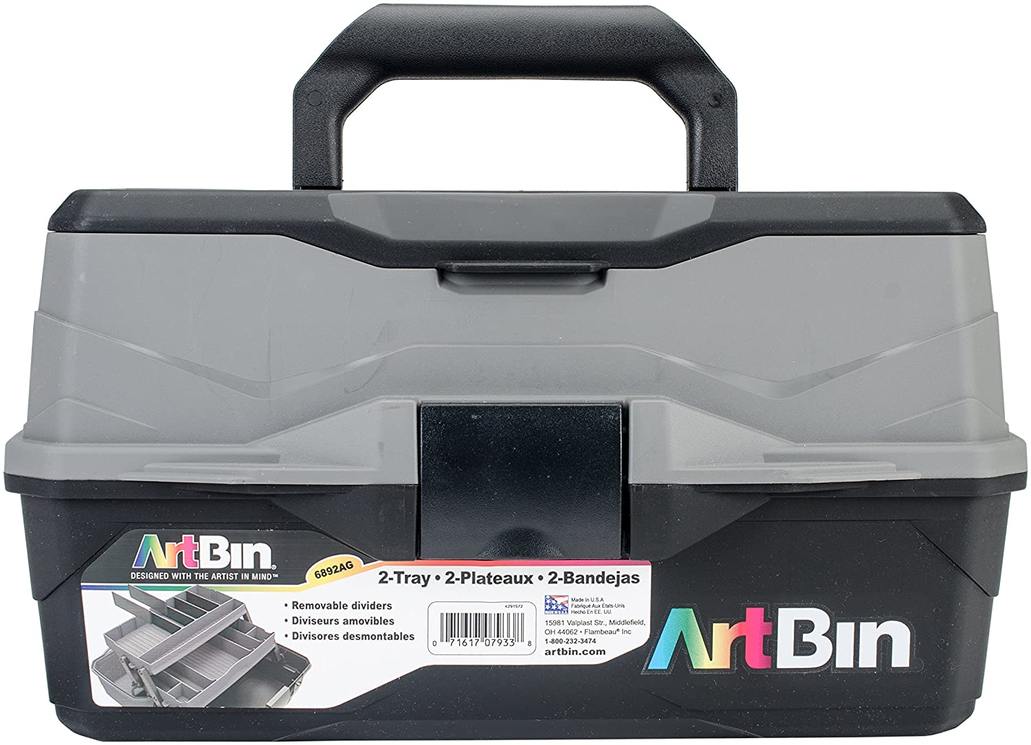 ArtBin One Tray Art Supply Box, 6891AG Flambeau Inc.