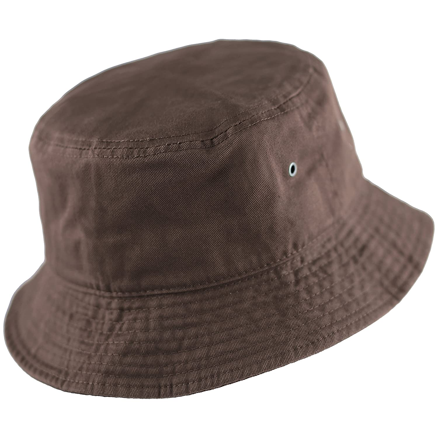 86a535adc26 THE HAT DEPOT 300N Unisex 100% Cotton Packable Summer Travel Bucket Hat  larger image