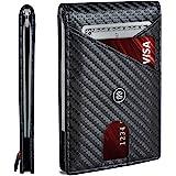 SUAVELL Slim Wallets for Men. RFID Money Clip Wallet, Slim Wallet, Thin Front Pocket Credit Card Wallet, Minimalist Bifold