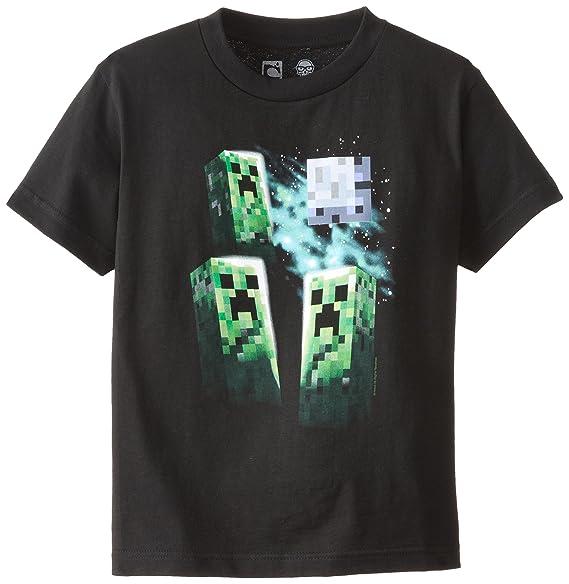 8705769b7 Amazon.com: Minecraft Boys' Periodic Table Youth Tee: Clothing