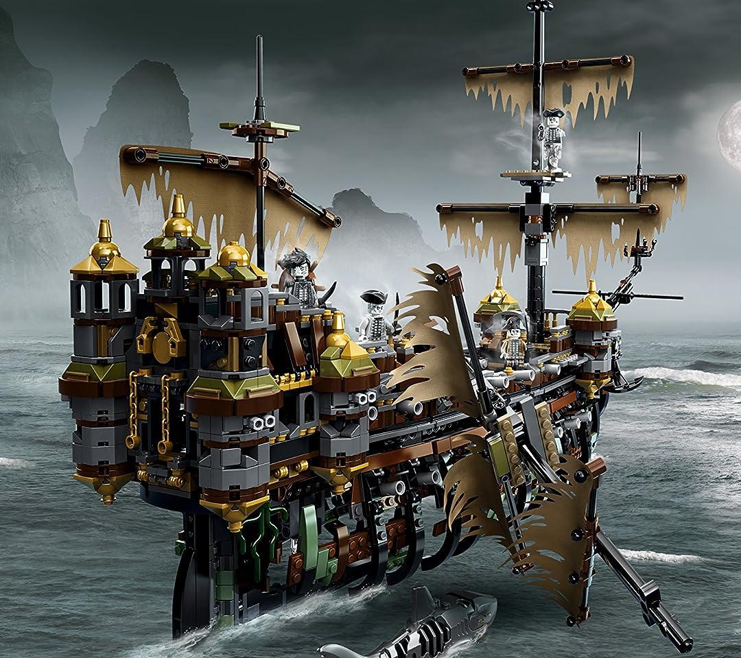 LEGO(レゴ) パイレーツオブカリビアン サイレント・メアリー号 QHD(1080×960)スマホ 壁紙・待ち受け