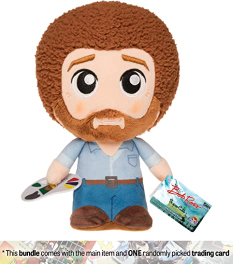 Bob Ross: The Joy of Painting x Funko SuperCute Plushies Plush + 1 American TV