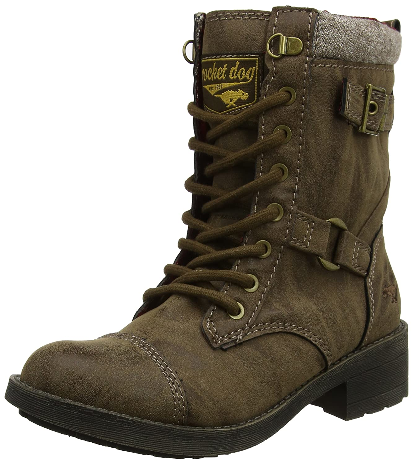 Rocket Dog Damen Thunder Biker Stiefel