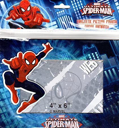 Amazon.com: Marvel Ultimate Spider-Man - Magnetic Picture Frame (4x6 ...