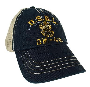 fc813cc2 Polo Ralph Lauren USRL Trucker Hat, Aviator Navy, 1 Size at Amazon Men's  Clothing store: