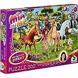 "Schmidt Spiele 56069 ""Mia und Me - in Centopia Glitter Puzzle (200-Piece)"