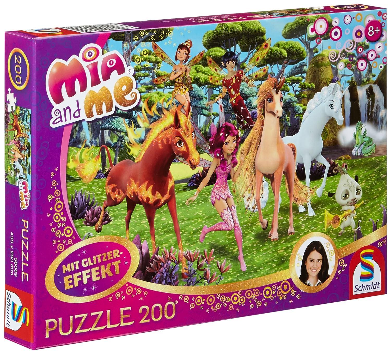 achat Schmidt Spiele- Puzzle Mia Und Me Scintillement-dans Centopia 200 Pièces, 56069 pas cher prix