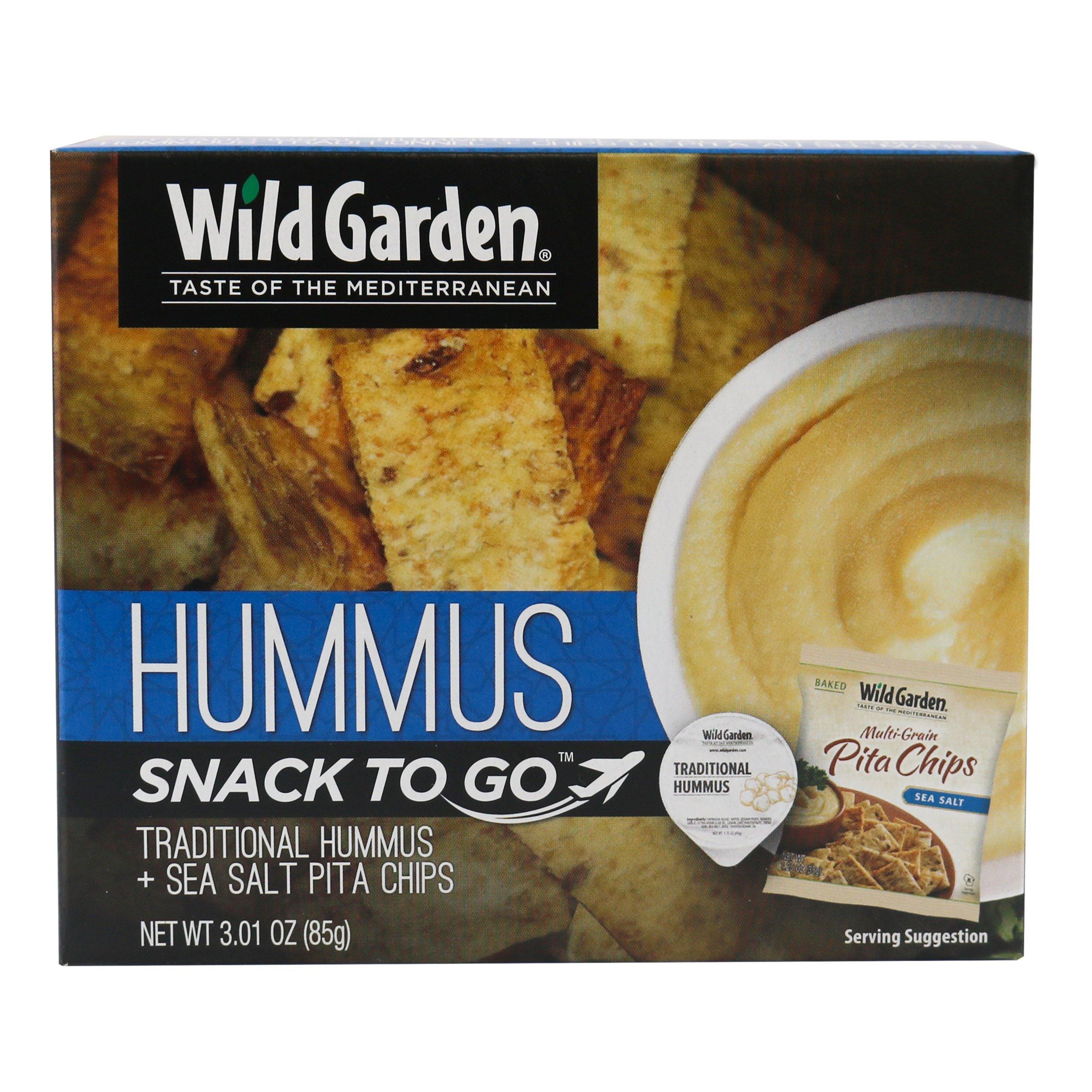 Wild Garden Foodservice Pita, Traditional Combo, 3.01 OZ
