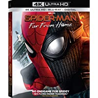 Spider-Man: Far from Home 4K UHD + Blu-Ray